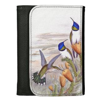 Hummingbird Bird Flowers Floral Wildlife Animals Wallet