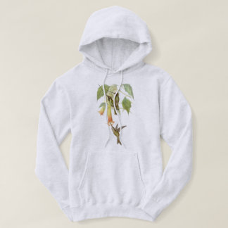 Hummingbird Bird Wildlife Flowers Sweatshirt