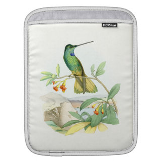 Hummingbird Birds Flowers Floral Wildlife Animals Sleeves For iPads
