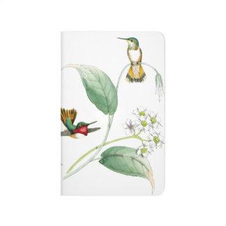Hummingbird Birds Flowers Wildlife Animals Floral Journal