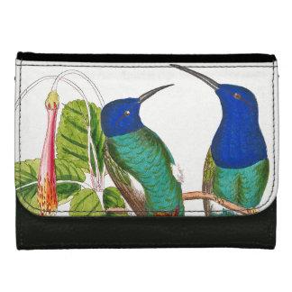 Hummingbird Birds Wildlife Animals Flowers Wallet