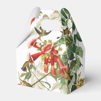 Hummingbird Birds Wildlife Floral Favor Box