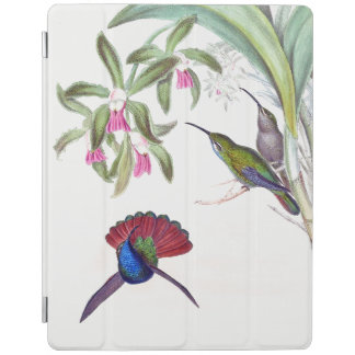 Hummingbird Birds Wildlife Flowers Ipad Cover