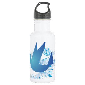 Hummingbird Blue 532 Ml Water Bottle