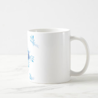 Hummingbird Blue Coffee Mug