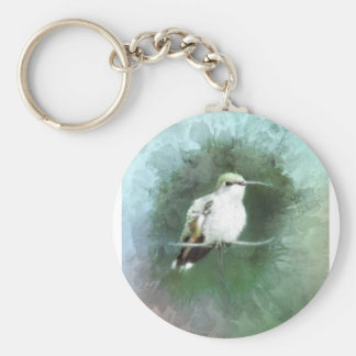 hummingbird blues key ring