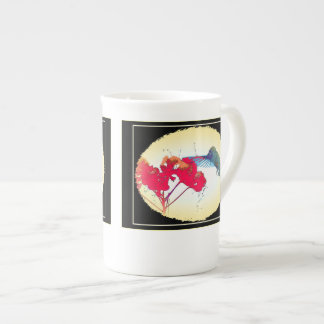 Hummingbird Bone China Cup
