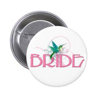 Hummingbird Bride Pins