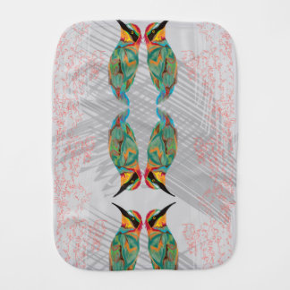 Hummingbird Burp Cloth