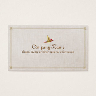 Hummingbird Business Card