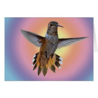 HUMMINGBIRD CARD