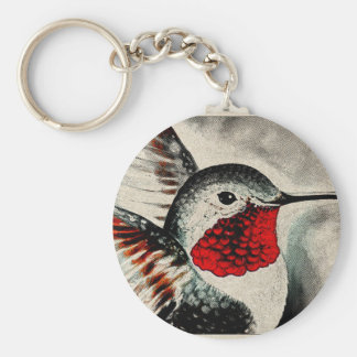 Hummingbird Comic Key Ring
