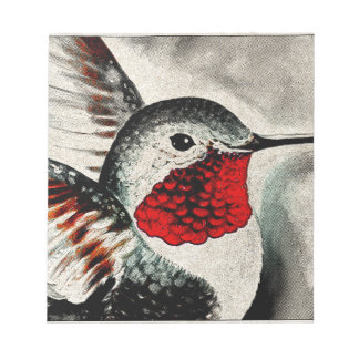 Hummingbird Comic Notepad