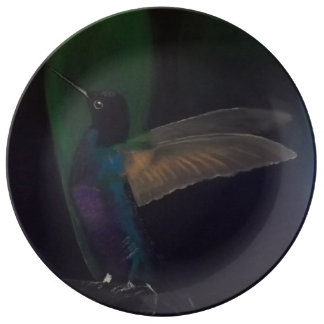 Hummingbird Decorative Plate Porcelain Plates
