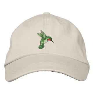 Hummingbird Embroidered Hat