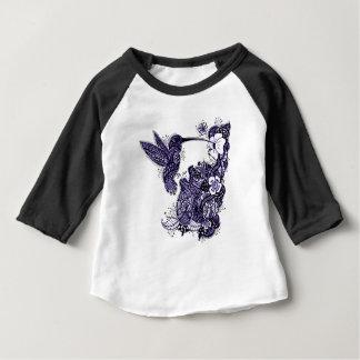 Hummingbird Feeding Baby T-Shirt