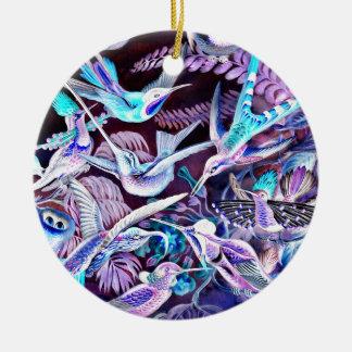 Hummingbird Fine Art Ceramic Ornament