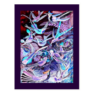 Hummingbird Fine Art Postcard