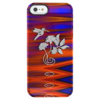 Hummingbird Flight Sunset Blush Clear iPhone SE/5/5s Case