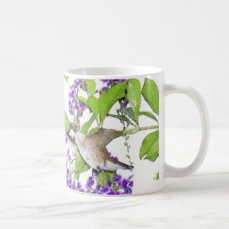 Hummingbird Flower Mug