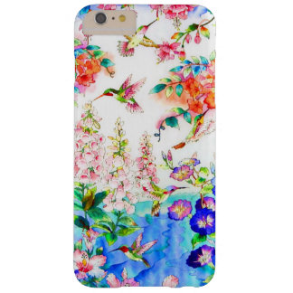 Hummingbird Flowers Landscape Barely There iPhone 6 Plus Case