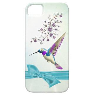 Hummingbird Flowers Ribbon Case-Mate iPhone 5 iPhone 5 Cases