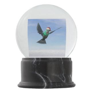 Hummingbird for christmas - 3D render Snow Globes