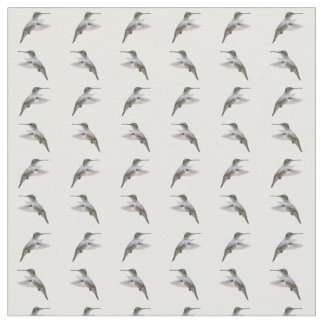 Hummingbird Frenzy Fabric (choose colour)