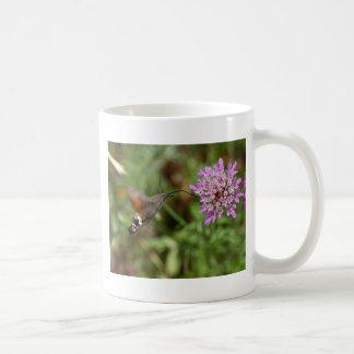 Hummingbird hawk-moth (Macroglossum stellatarum) Coffee Mug