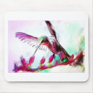 Hummingbird I'm calling you back Mouse Pad
