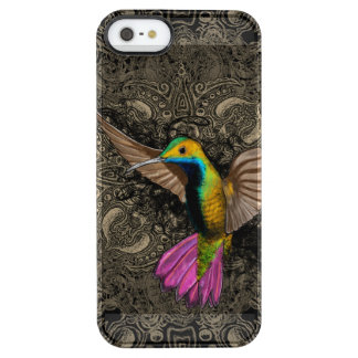 Hummingbird in Flight Clear iPhone SE/5/5s Case