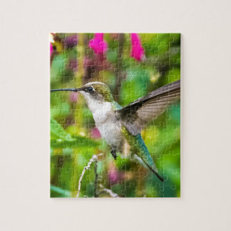 Hummingbird in Flight Jigsaw Puzzle