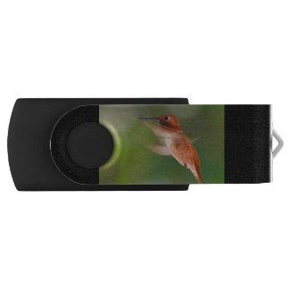 Hummingbird in Flight USB Flash Drive
