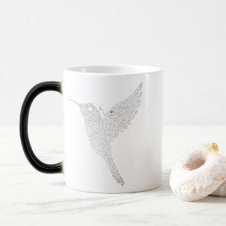 Hummingbird Jamming Out Magic Mug