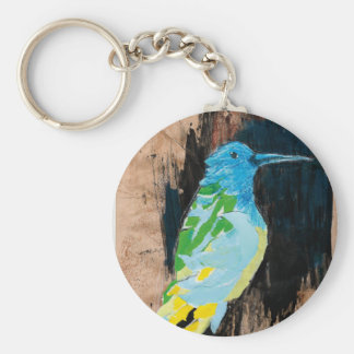 hummingbird key ring