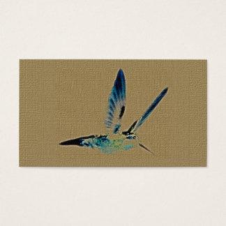 Hummingbird King Customizable Business Cards
