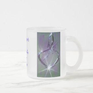 Hummingbird lav & teal Mug - any occasion
