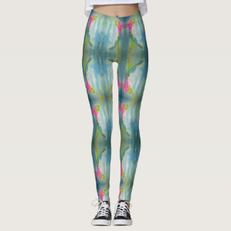 Hummingbird love leggings