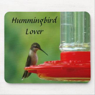 Hummingbird Lover Mousepad