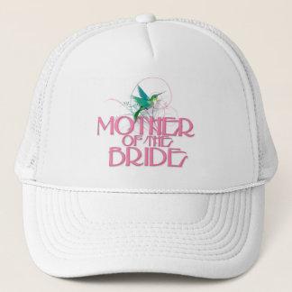 Hummingbird Mother of the Bride Trucker Hat