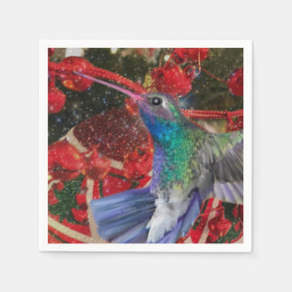Hummingbird Napkins Disposable Napkin
