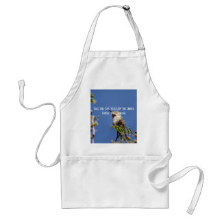 Hummingbird on Branch by SnapDaddy Standard Apron