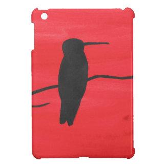 Hummingbird On Red Case For The iPad Mini