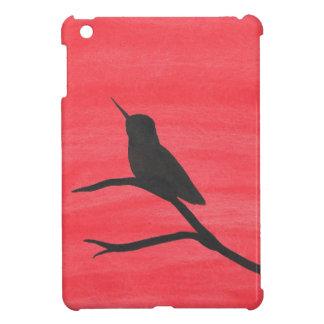 Hummingbird On Red iPad Mini Cover