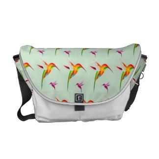 Hummingbird Pattern Design Commuter Bags