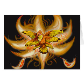 Hummingbird Pheonix Card