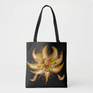 Hummingbird Pheonix Tote Bag