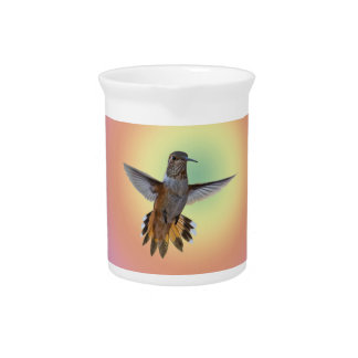 HUMMINGBIRD PITCHER