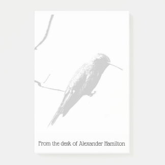 Hummingbird Post-it Notes