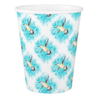 Hummingbird Sky Paper Cup